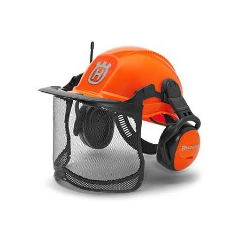 Husqvarna erdészeti sisak rádióval, Functional